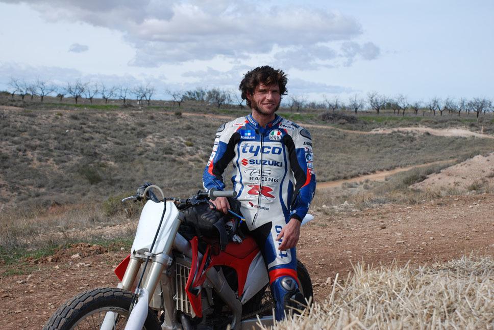 Racer Guy Martin.