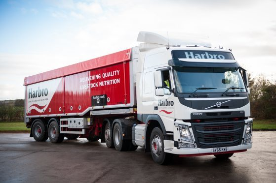 Harbro manufactures around 250,000 tonnes of animal feed a year