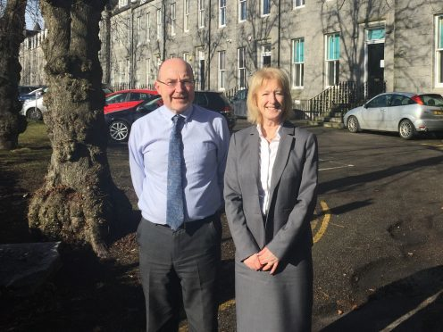 Donald MacKenzie and Audrey Batten, directors at ACCORD Business Partnerships