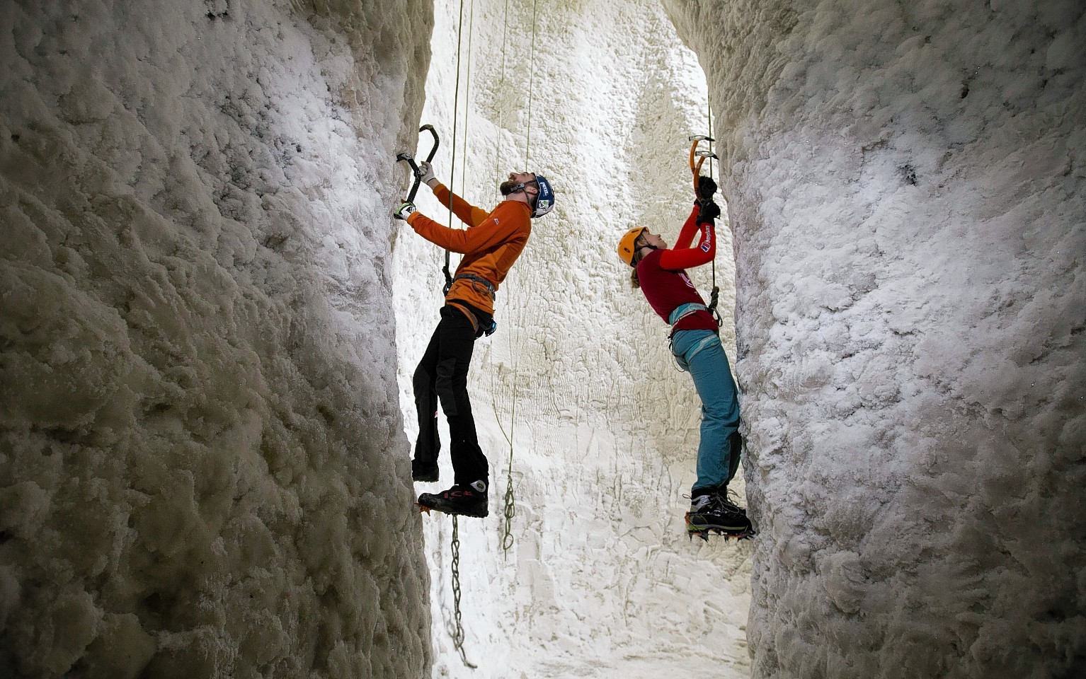 Ice Factor Kinlochleven reopens after fire last summer