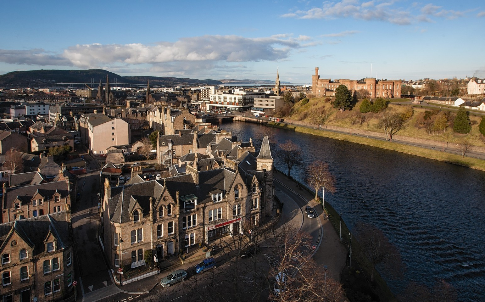 Inverness continues to prove popular with tourists