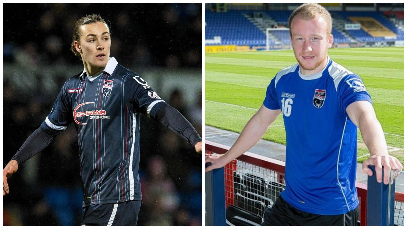 Jackson Irvine and Liam Boyce