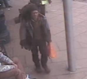 Police have released CCTV footage of James at a bus stop in Aberdeen