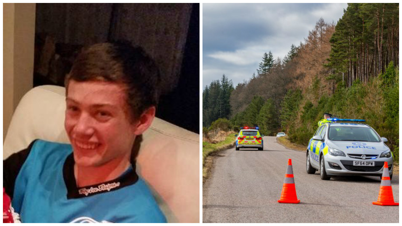 Keiran McKandie was killed in the collision on Sunday