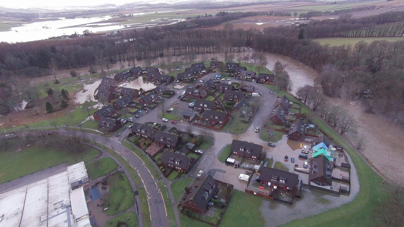 Floods in Kemnay