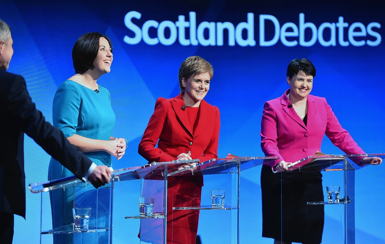 The main party leaders ahead of the Scottish election