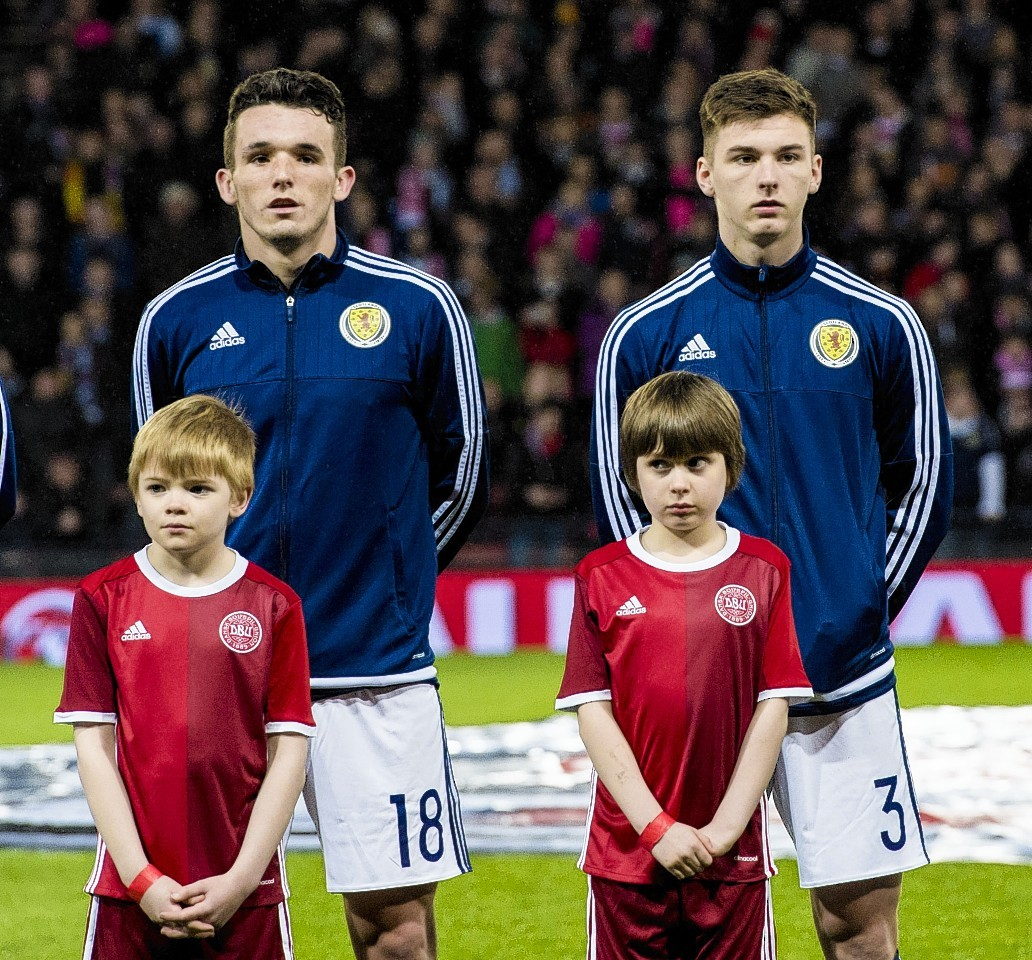 Brown highlighted the performances of youngsters John McGinn and Kieran Tierney