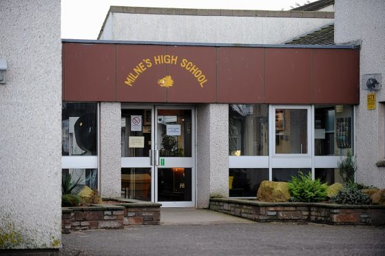 Milne's High School at Fochabers