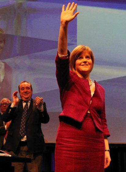Nicola Sturgeon has spoken on the opening day of the SNP conference