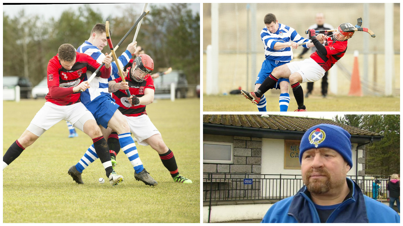 Newtonmore secured a comfortable victory