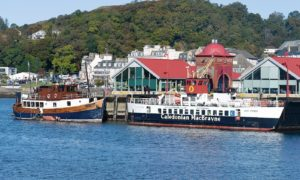 Oban's North Pier