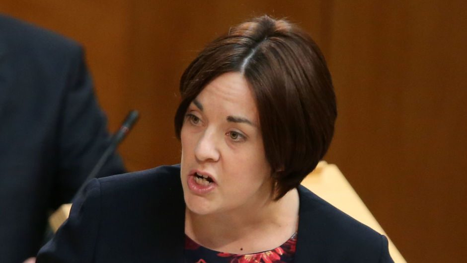 Scottish Labour leader Kezia Dugdale challenged Nicola Sturgeon on the Government's position on fracking