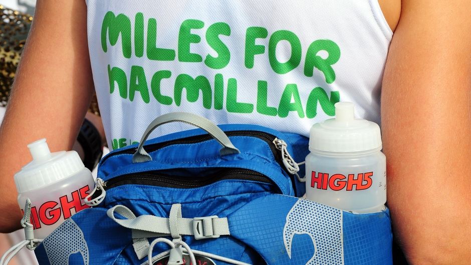 Macmillan Cancer Support is calling for Baker Hughes 10k runners