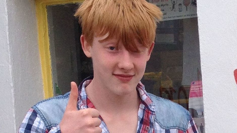 Bailey Gwynne, 16, died after being struck with a knife during a fight at Cults Academy in Aberdeen last October (Police Scotland/PA Wire)