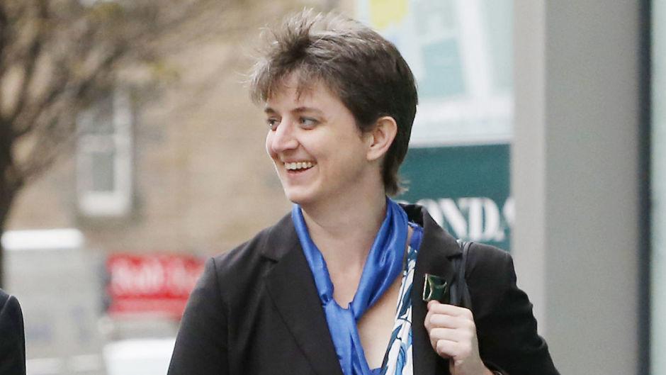 Aberdeen University rector Maggie Chapman