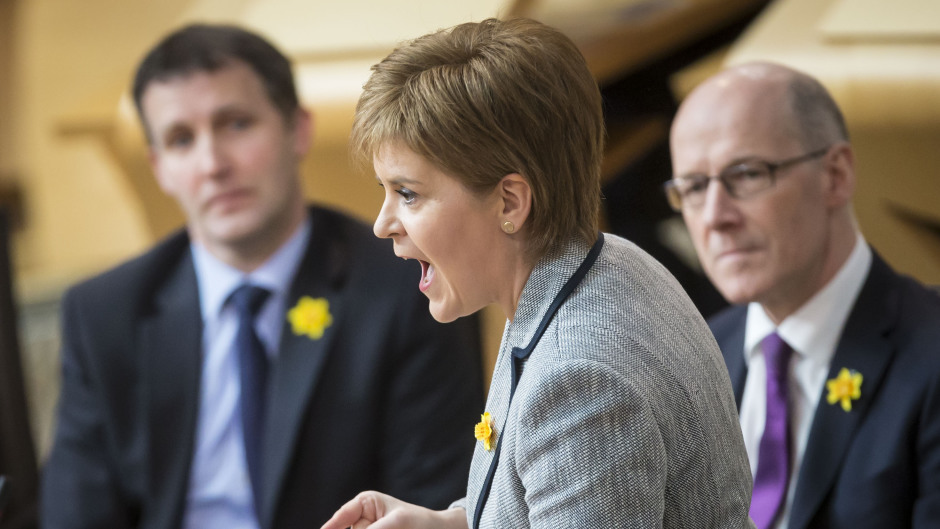 Nicola Sturgeon was pressed on how she would use new powers over income tax