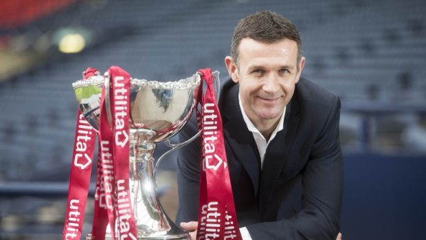 Ross County manager Jim McIntyre, pictured, has no cup final worries over stand-in goalkeeper Gary Woods