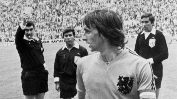 Holland captain Johan Cruyff was a star of the 1974 World Cup