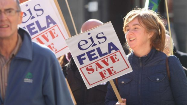 EIS-FETA refused a 1% pay rise deal earlier in the year