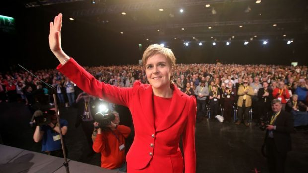 Nicola Sturgeon rejected suggestions the SNP would have to impose austerity