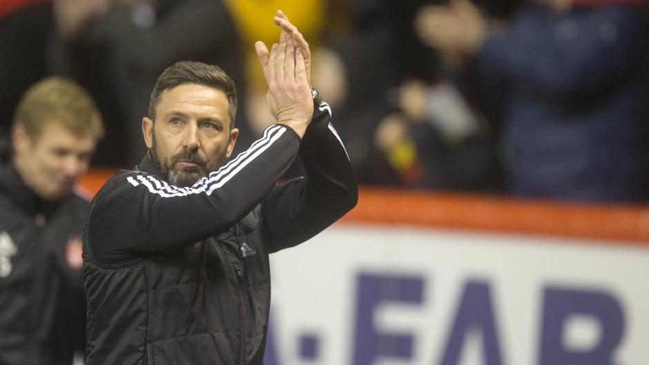 Derek McInnes wants Aberdeen to push Celtic all the way.