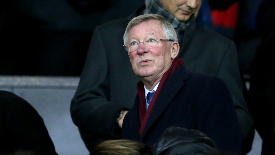 Former Aberdeen and Manchester United manager Sir Alex Ferguson.