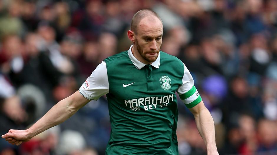 Hibernian captain David Gray dreams of lifting Scottish League Cup