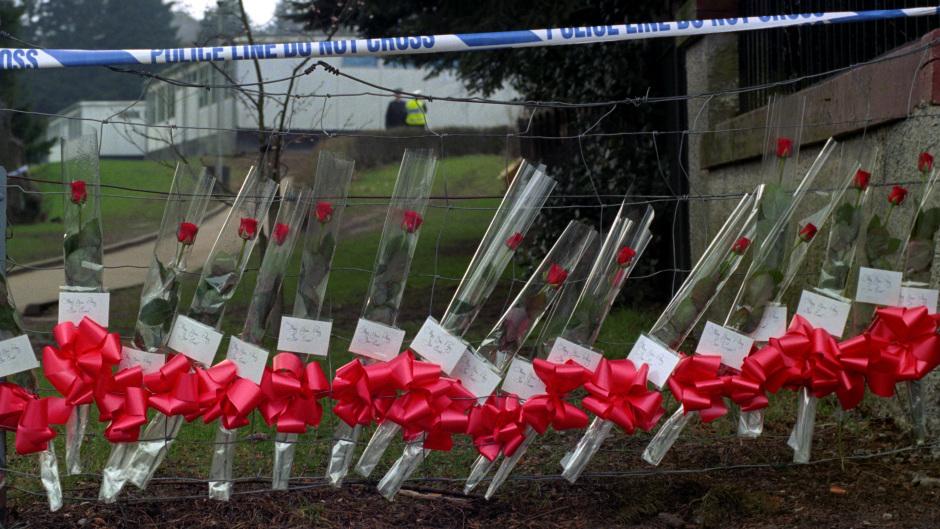 Gunman Thomas Hamilton shot dead 16 children and their teacher at Dunblane primary 20 years ago