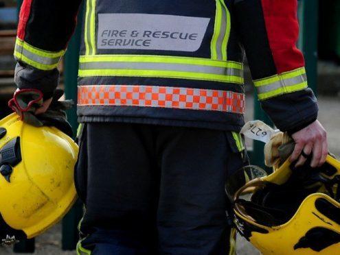 Crews have been called to a van fire in Bridge of Don