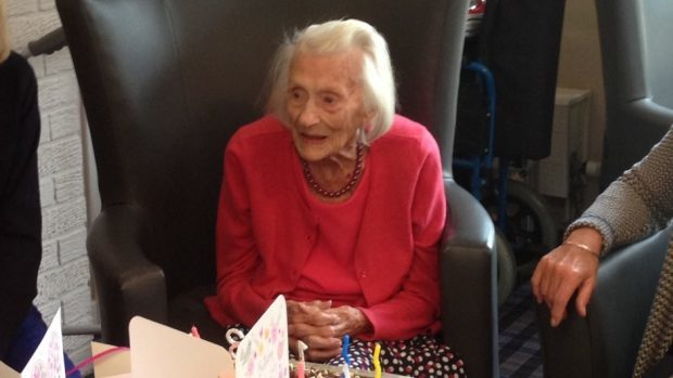 Margaret Phillips, 103, is to be named Curry Lover of the Year