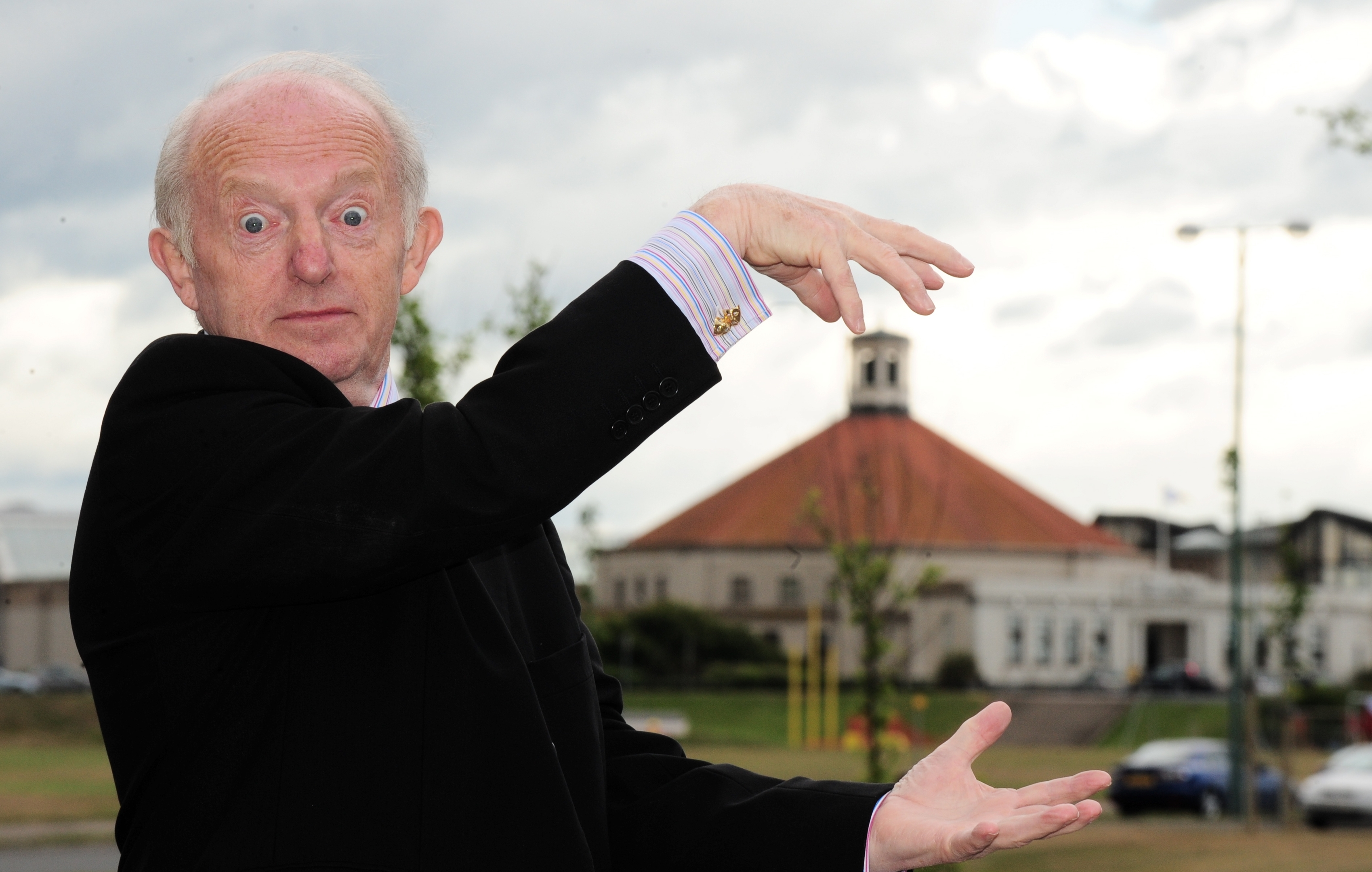 Magician Paul Daniels was in the city on thursday to open the Cinders Aberdeen showroom at 55 Cotton Street.