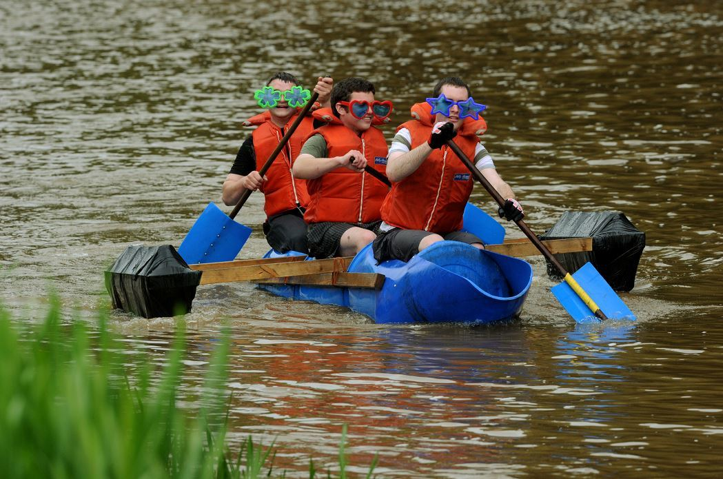 The Garioch Lions raft race is returning this summer