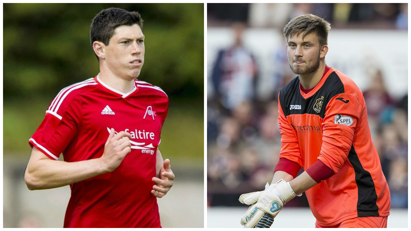 Scott McKenna and Danny Rogers have both penned new deals