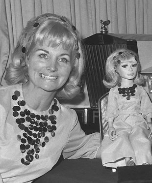 Thunderbirds co-creator Sylvia Anderson, best known for voicing Lady Penelope