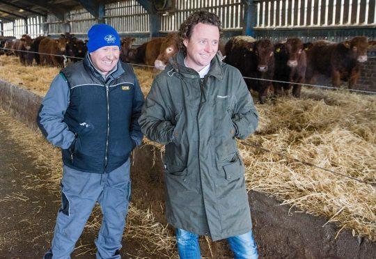 Alan Hunter and Tom Kitchin