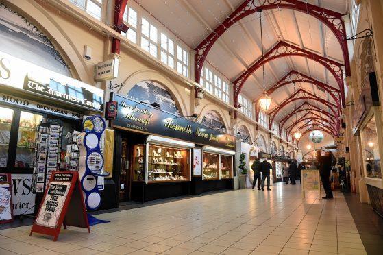 The Victorian Market, Inverness.