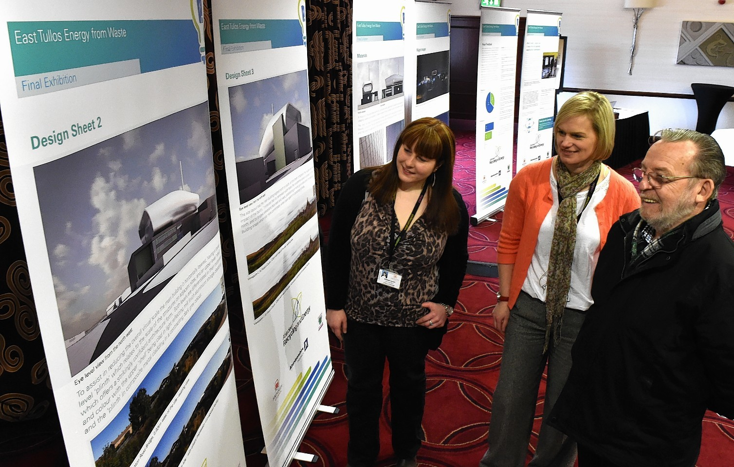 Waste to Energy Exhibition at Altens Hotel. Picture by Colin Rennie.