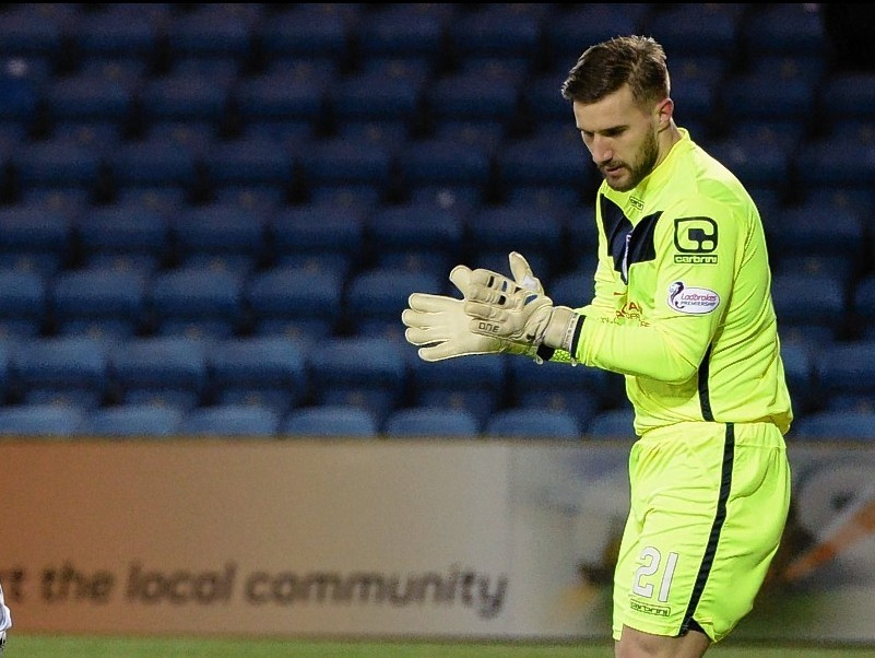 Staggies keeper Gary Woods recently became a father for the second time.