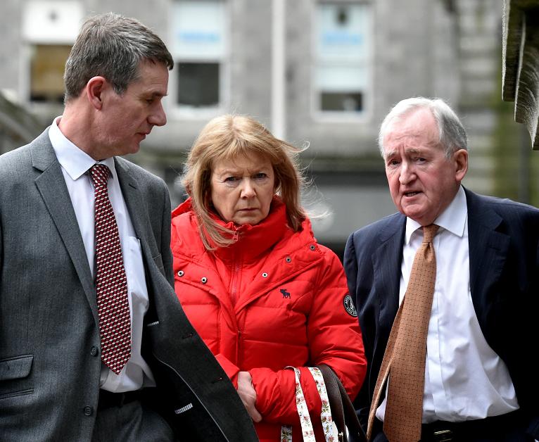 Employment tribunal on Nurse Anne Croft (middle)