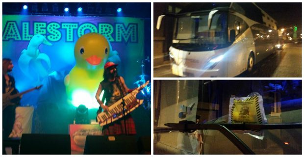 Alestorm and Sabaton rocked the Music Hall on Wednesday night... before collecting parking tickets on their tour busses
