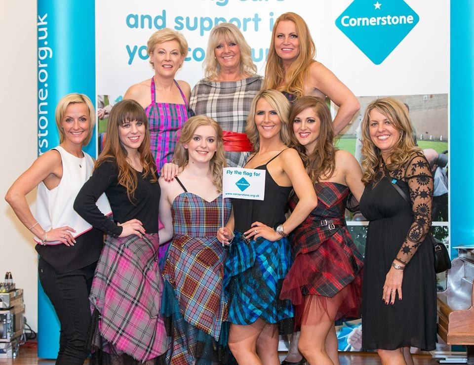 The show raised £7,500 for social care charity cornerstone