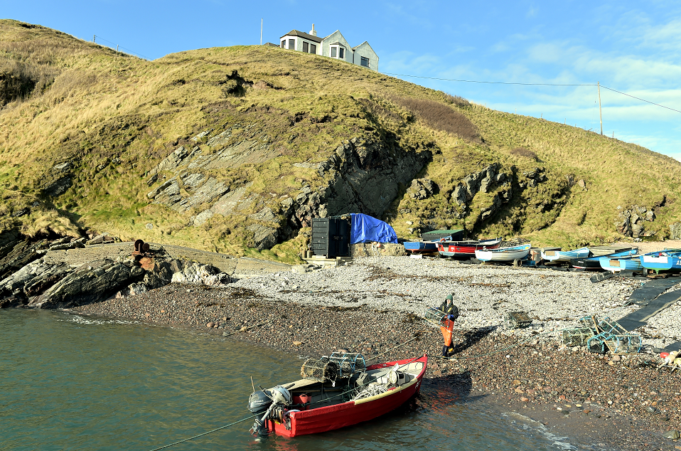 The fishermen could be facing eviction