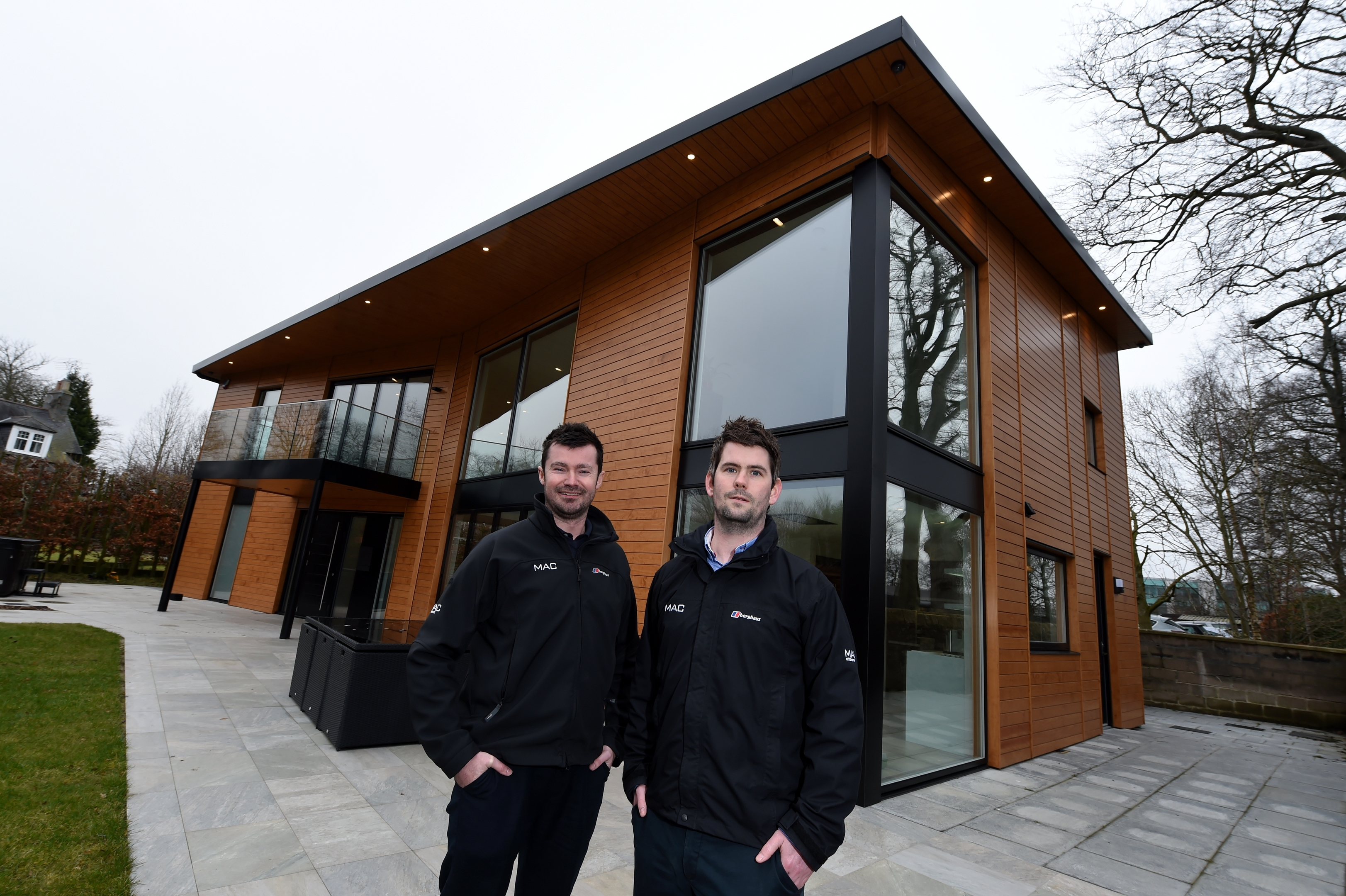 Architects Blair Milne and Jonathon Cheyne