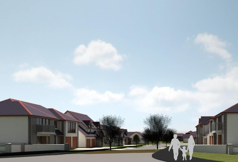 Designs of the Kirkton scheme in Fraserburgh.