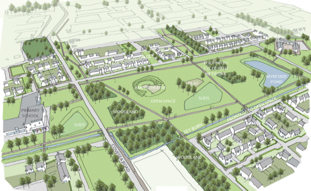 Artists impression of the proposed development