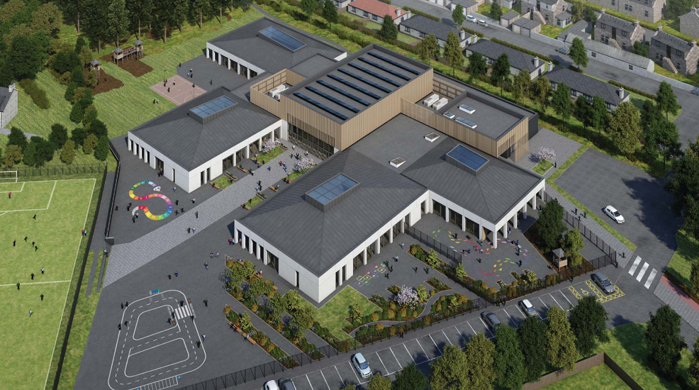 The school will also include eco-friendly facilities, including low energy central heating and solar panels