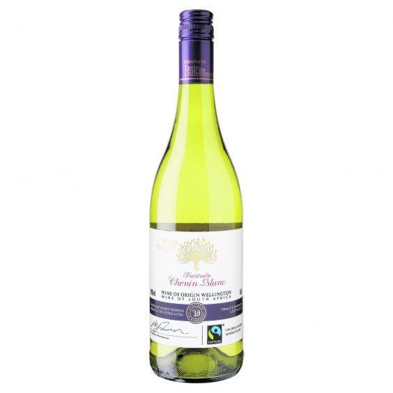 Taste The Difference Fairtrade Wild Valley Chenin Blanc 2015