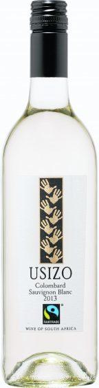 Usizo Fairtrade Colombard Sauvignon Blanc 2013