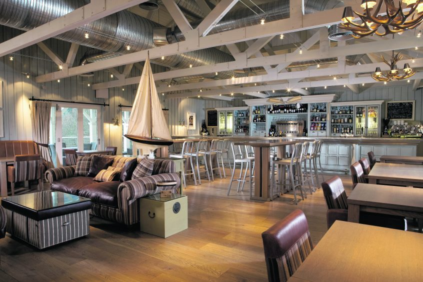 Cameron House Boat House restaurant