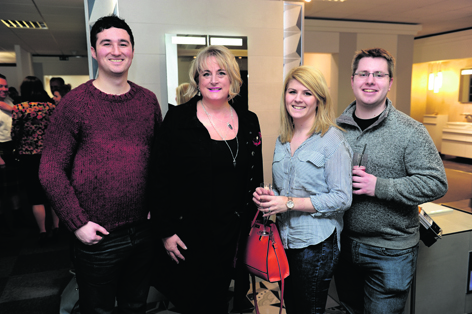 Matthew Allan, Alice Dennis, Kirsty Henderson-Young and Ian Robertson